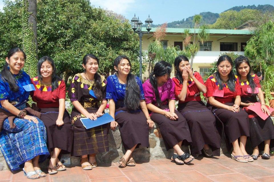 Estela Simaj group photo