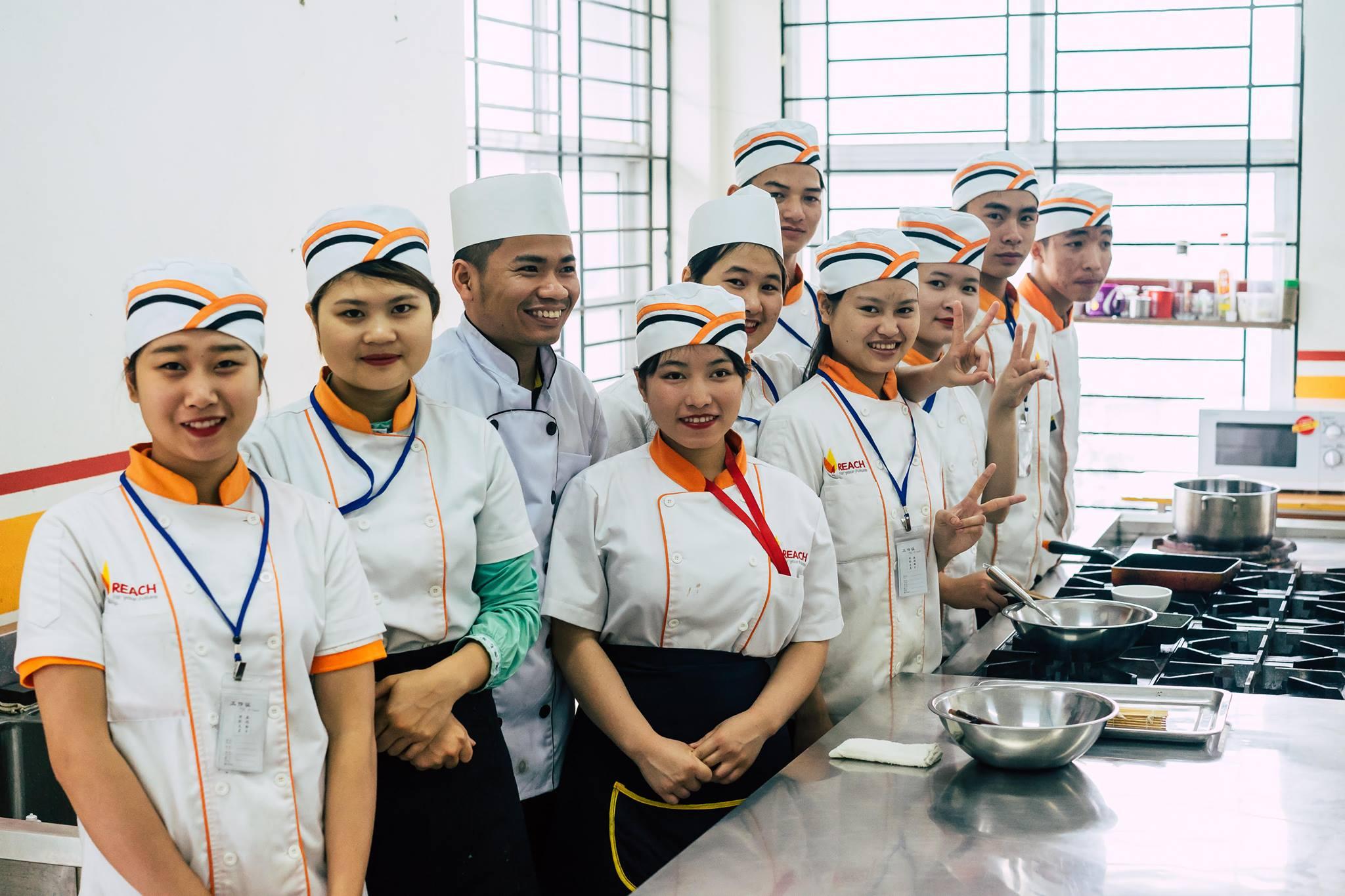 Tam Kitchen Staff