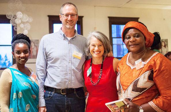 Deborah & Keith Streeter Host Perennial Leaders